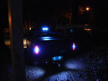 LED reverse bulbs, custom LED backup lights, LED third brake light, LED license plate lights