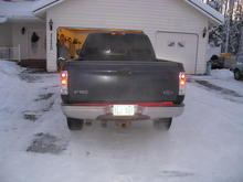 Light bar looks crooked but truck aint level