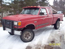 truck after 3 inch body