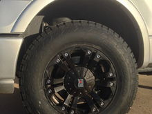 Fx2 w/ 33's and 2 inch leveling kit