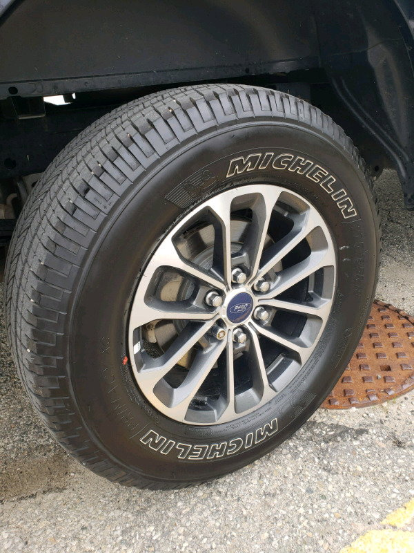 fs  ford  sport   wheels  michelin tires