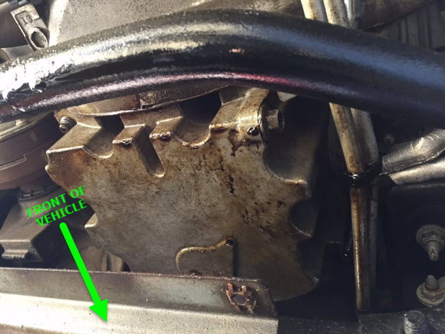 Mystery engine oil leak 2013 ecoboost ford f150 forum for Ford f150 motor oil