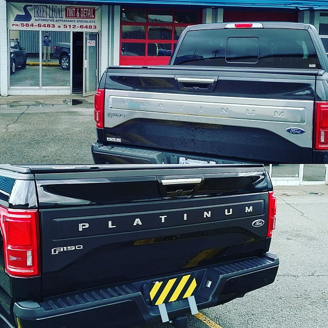 2016 F150 King Ranch >> King Ranch tailgate applique - Full vs small emblem - Page 2 - Ford F150 Forum - Community of ...