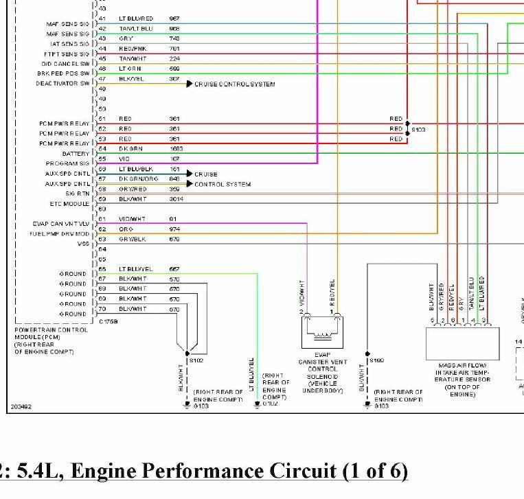 Ford F 150 Wire Schematics Maf Iat | Wiring Diagram F Maf Wiring Diagram on