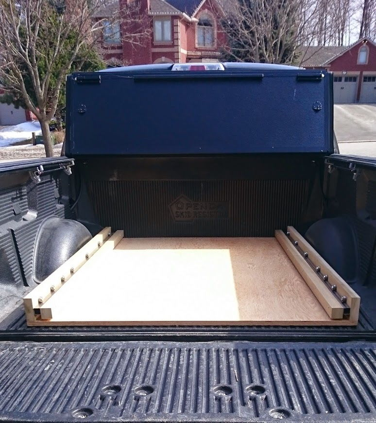 Home Brew Light Duty Bed Slide