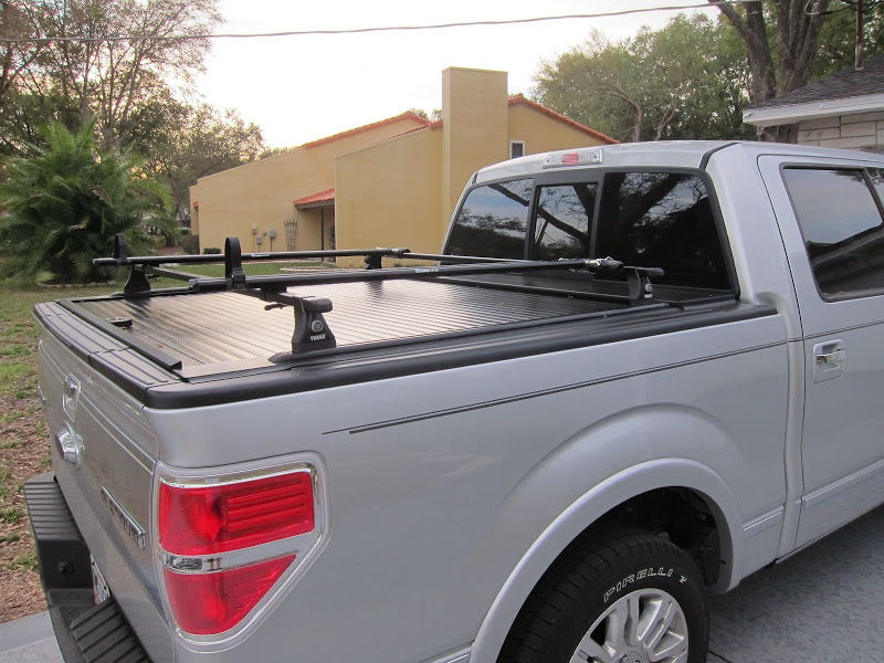 Yakima Thule System On Bed Ford F150 Forum Community