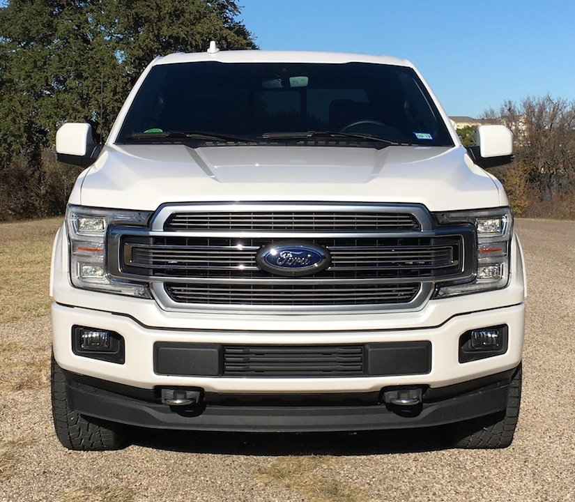 2018 F150 Limited Grille