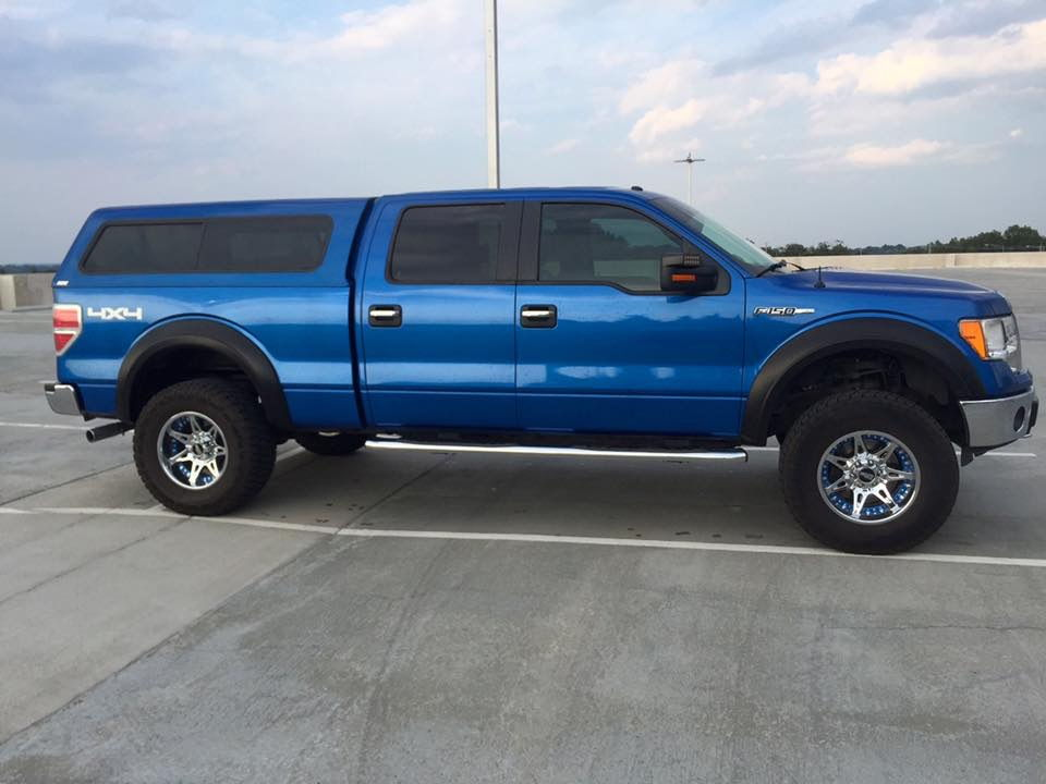 South Central Lifted 2013 F150 Xlt Blue Flame Ford F150