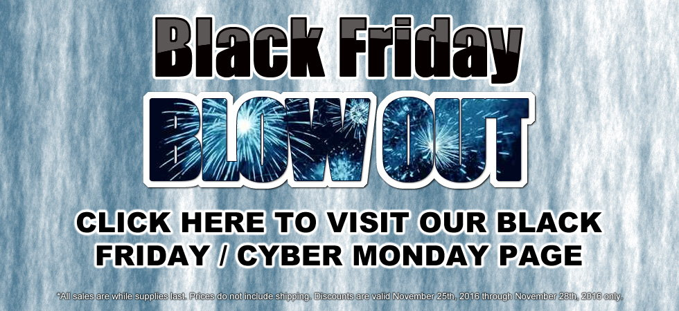 Black Friday Continues All Weekend Long Through Monday