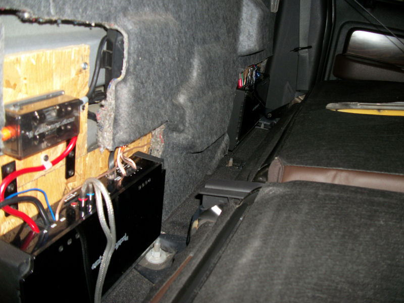 Amp Install Location F150online Forums