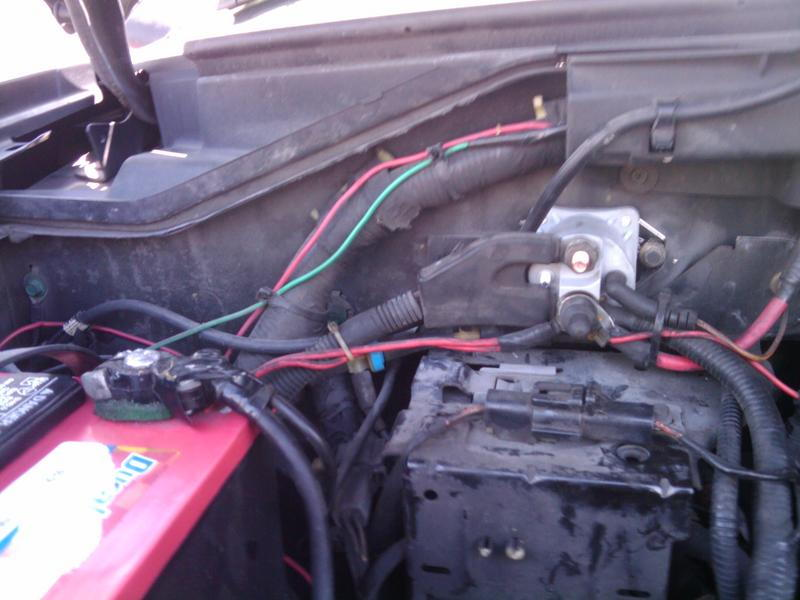 2000 f150 starter relay location ford starter relay