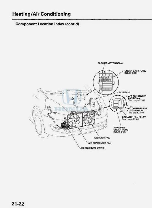 09 fit need to locate ac relay unofficial honda fit forums rh fitfreak net 2009 Honda CR-V Fuse Diagram 2010 Honda Fit Fuse Box