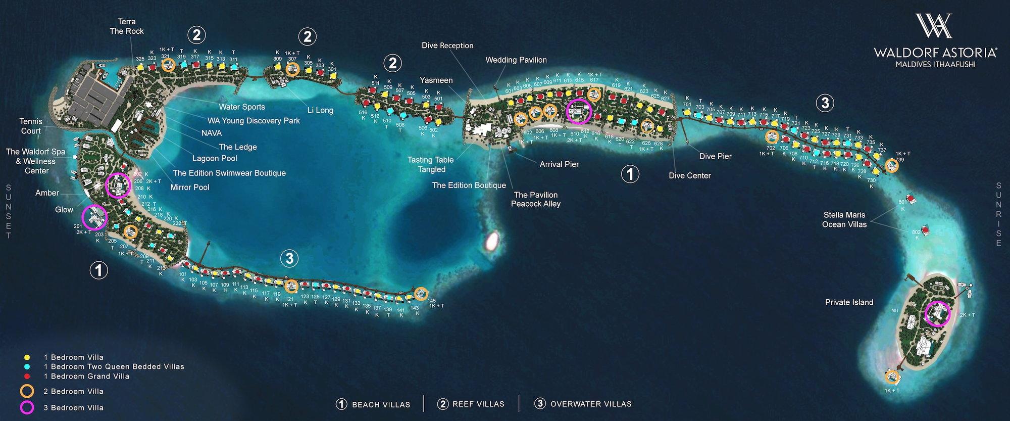 Waldorf Astoria Maldives Ithaafushi Page 163