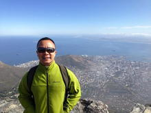 Top of Table Mountain. Cape Town, South Africa.