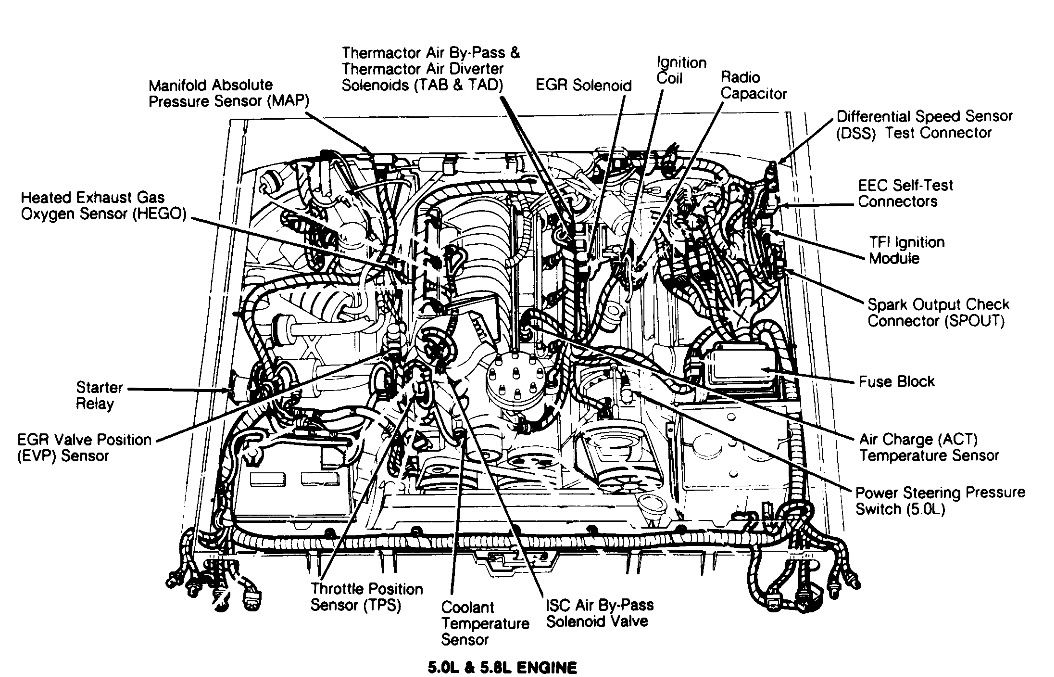Wiring Diagram 1986 Ford 5 0 2006 Lincoln Zephyr Engine Diagram Bege Wiring Diagram