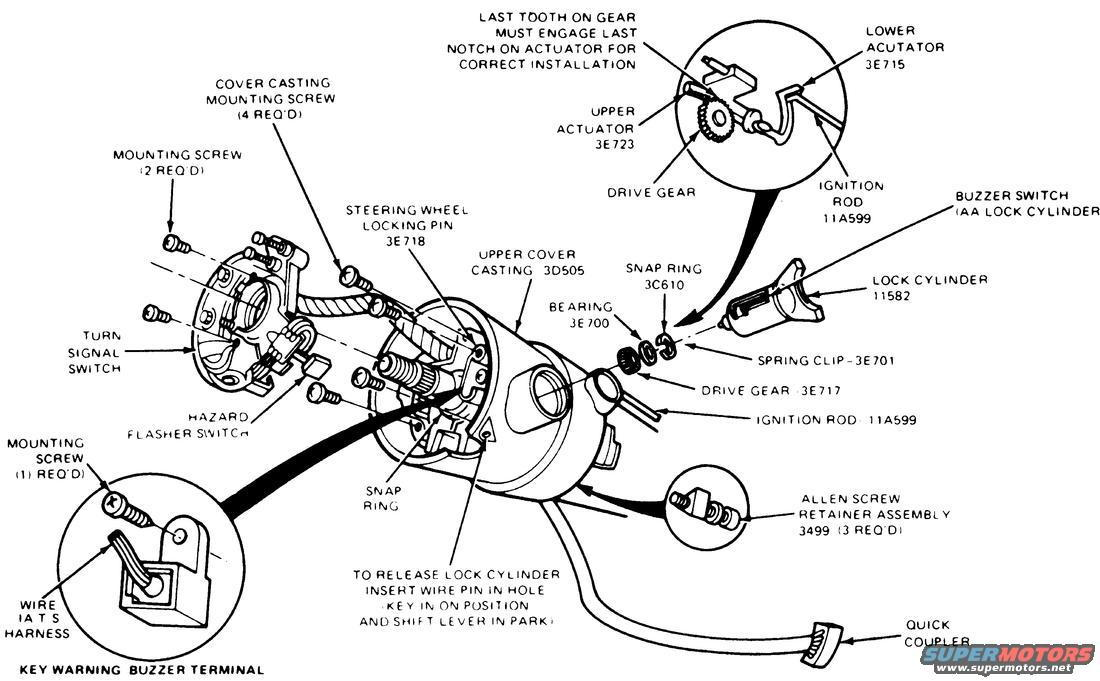 ignition switch-key tumbler
