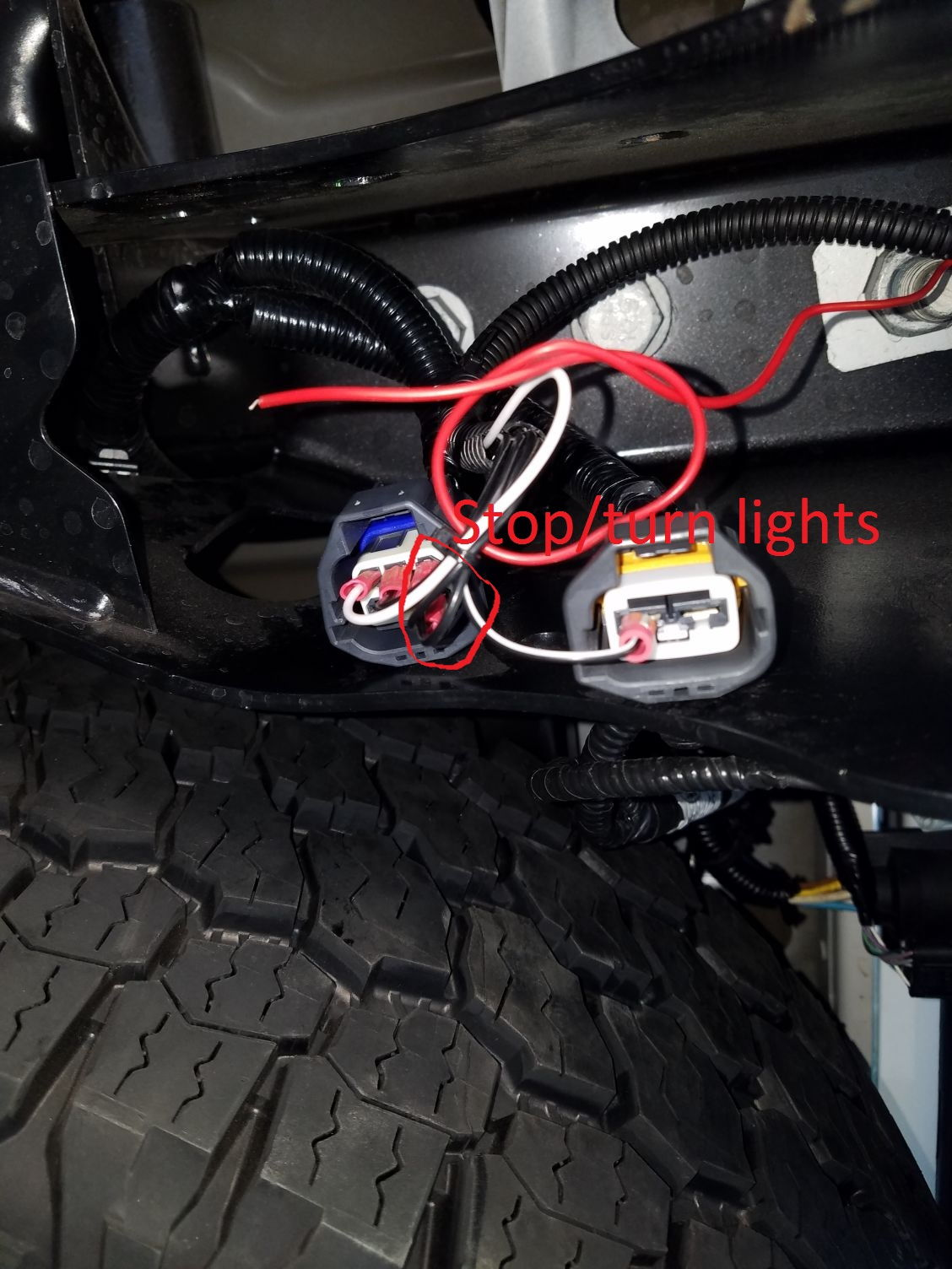 third brake light wire