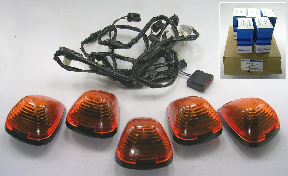Nos Running Lights 2001-2007 Superduty W  Harness
