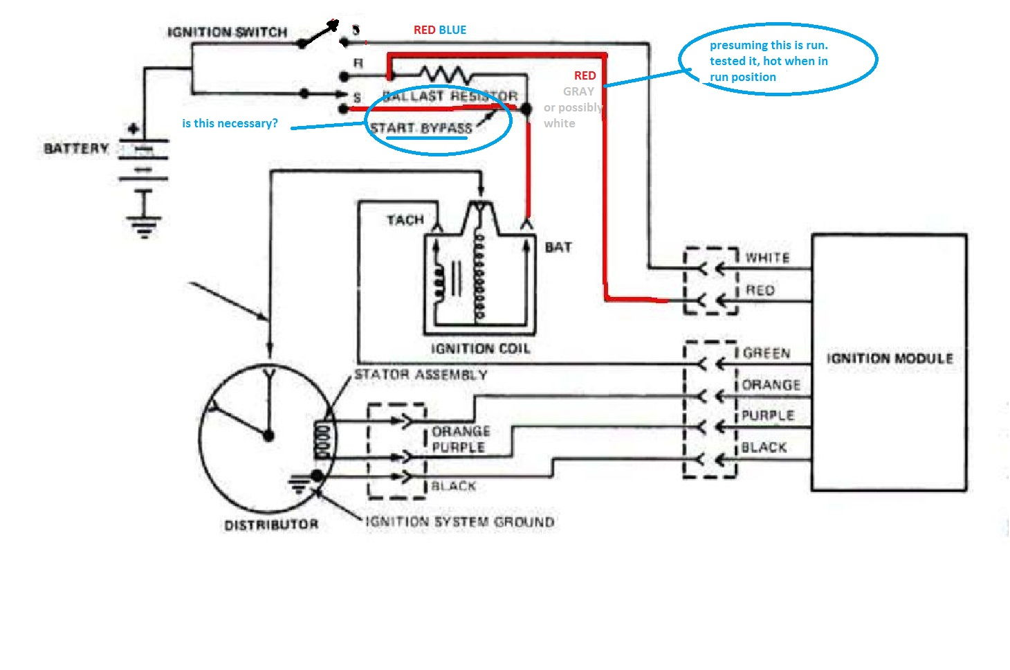 ford ignition control module wiring diagram ford ignition