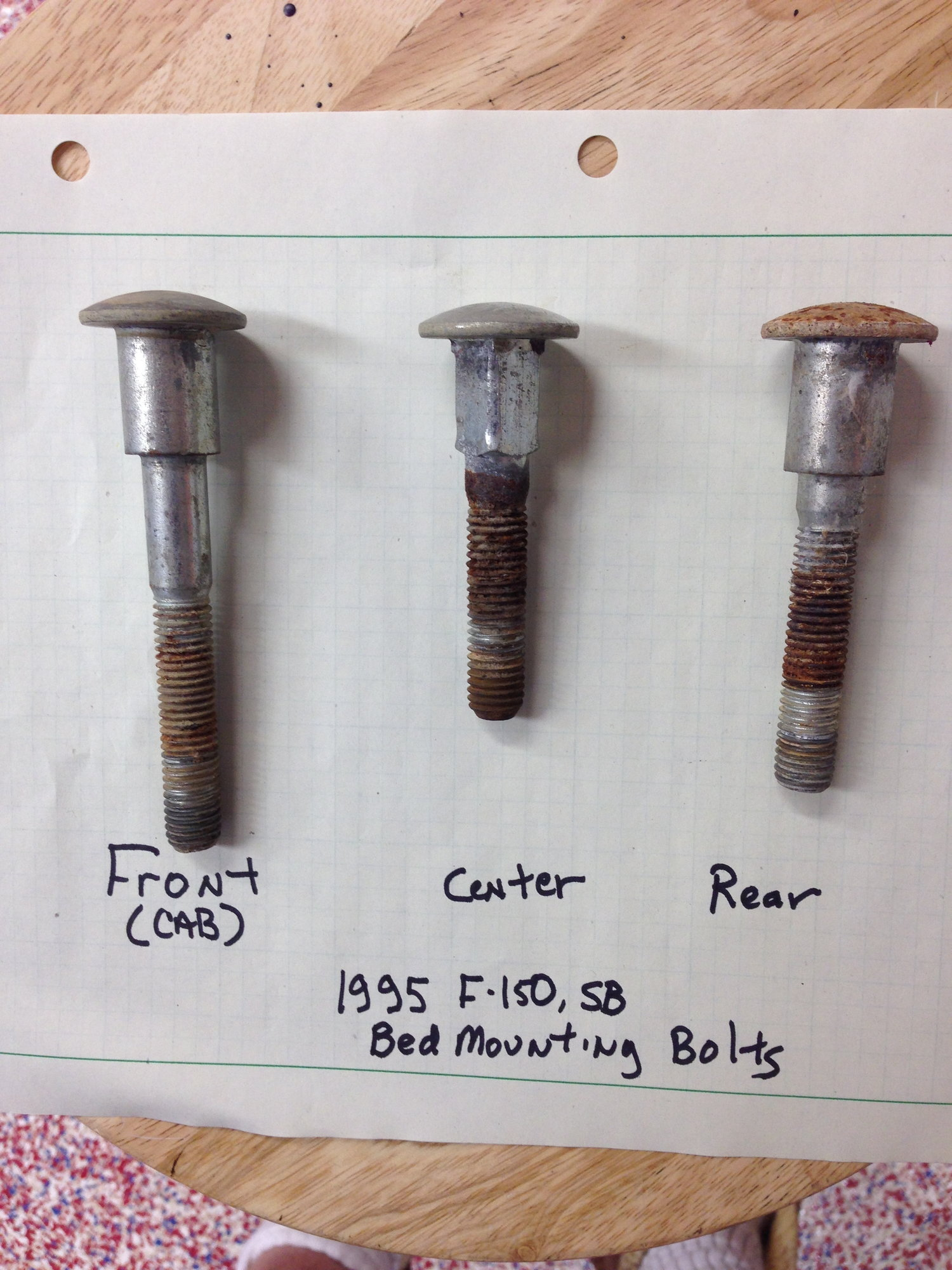 Ford F Bed Bolts