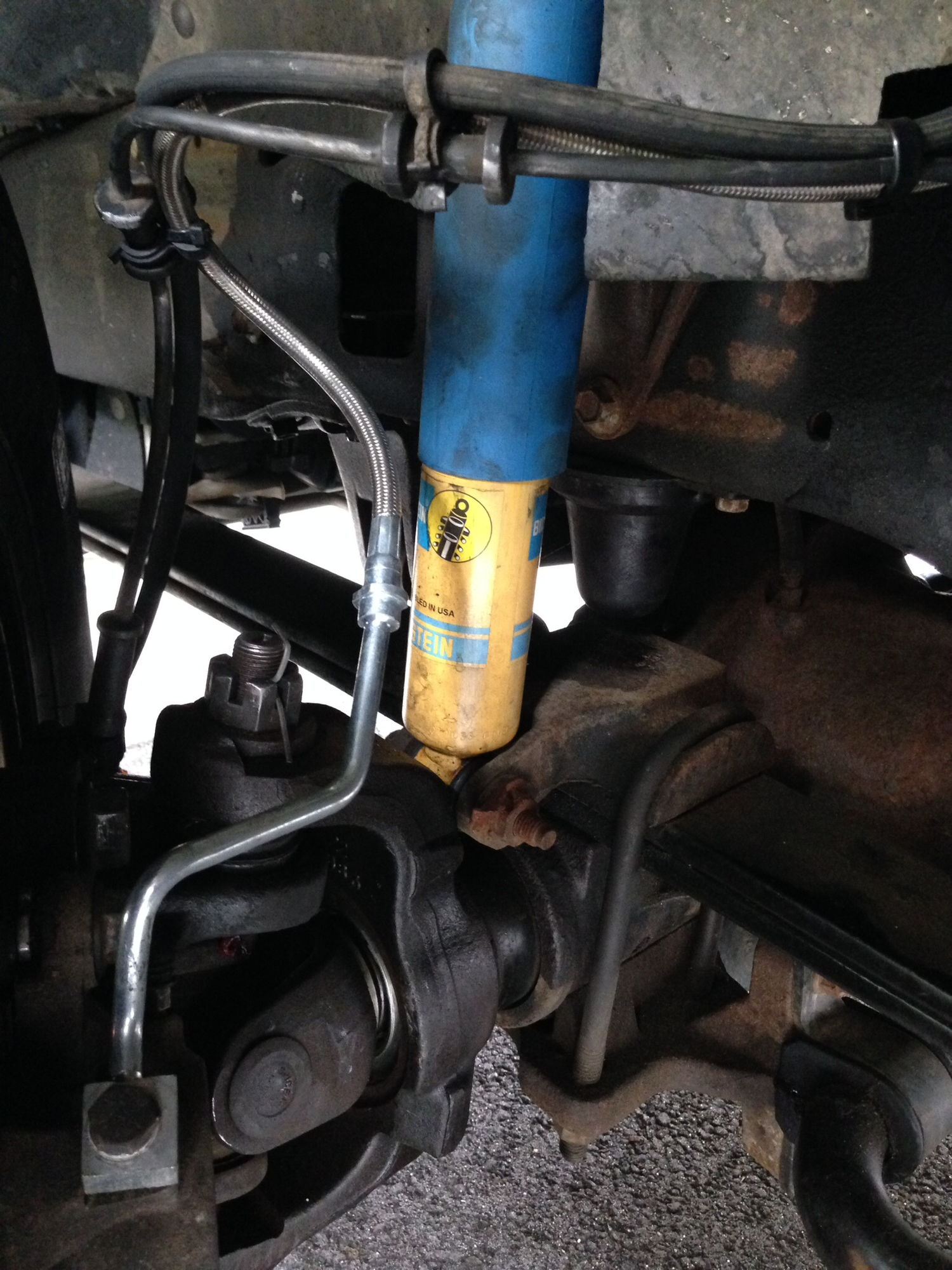 Bus Brake Lines : Braided stainless steel kevlar brake lines ford truck