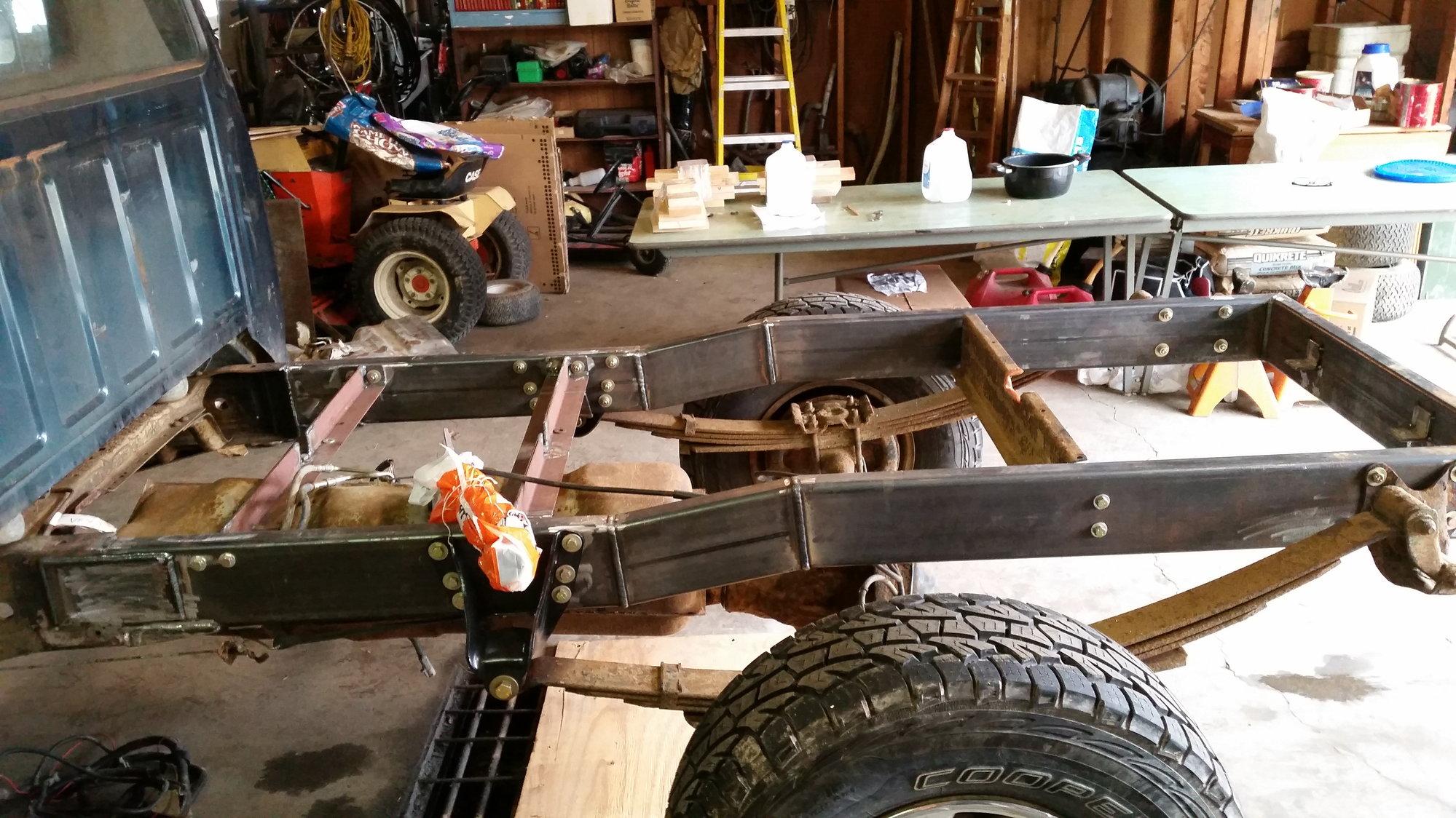 97 F250hd Frame Repair