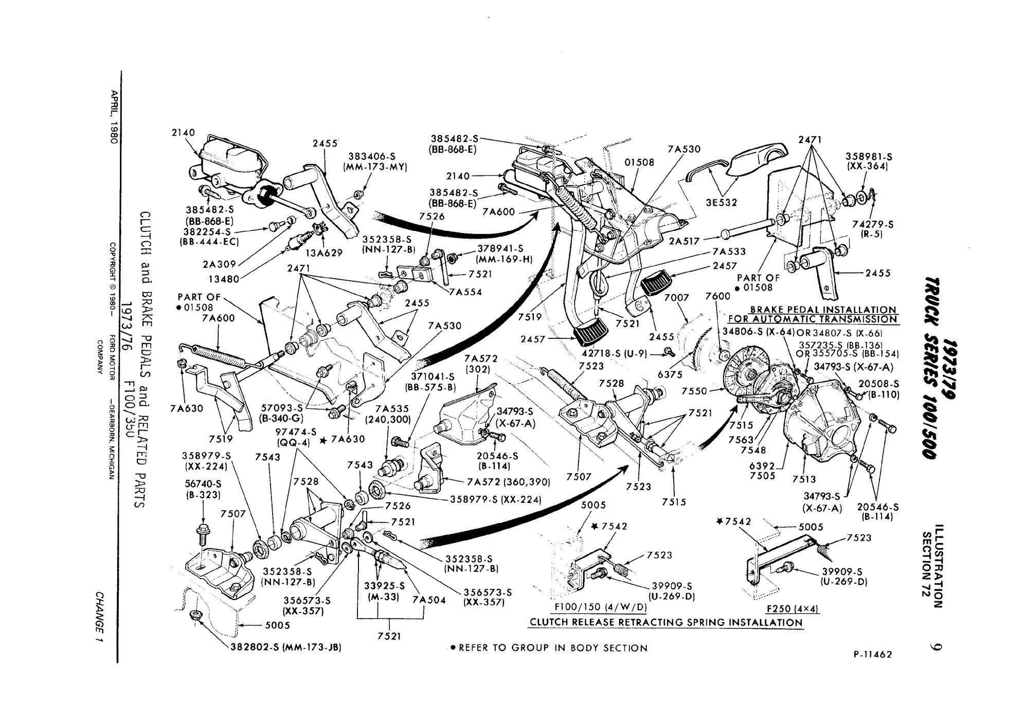 1990 Ford F350 Brake Diagram Manual Guide