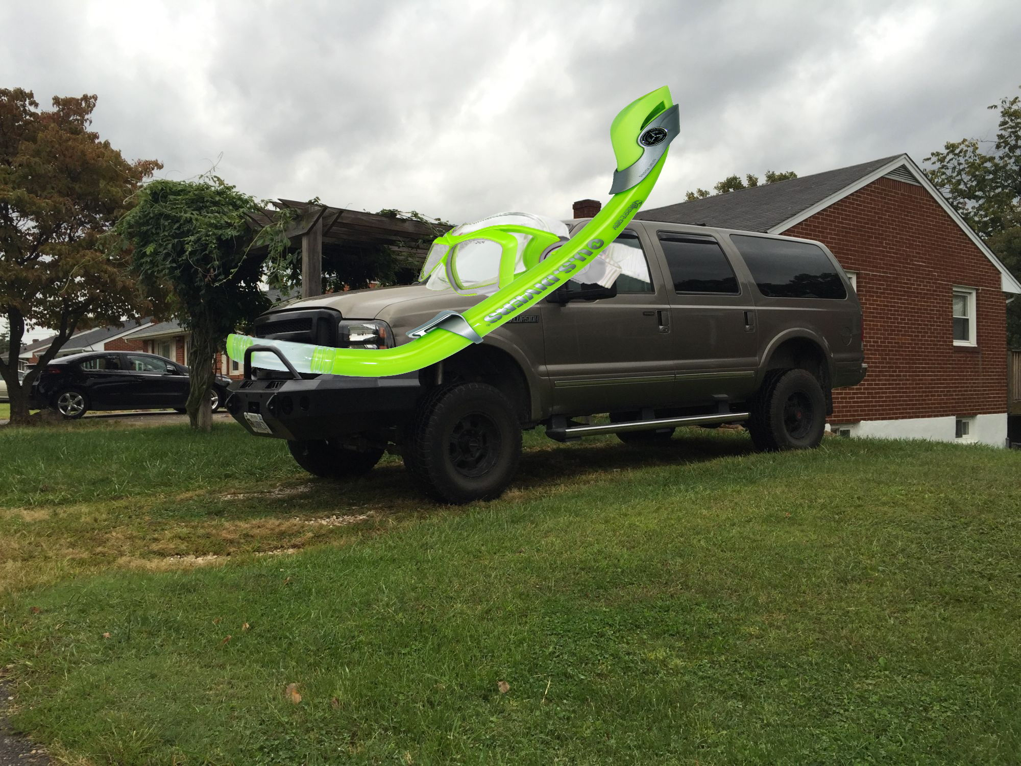 Snorkel kit on a v10 excursion page 4 ford truck enthusiasts forums