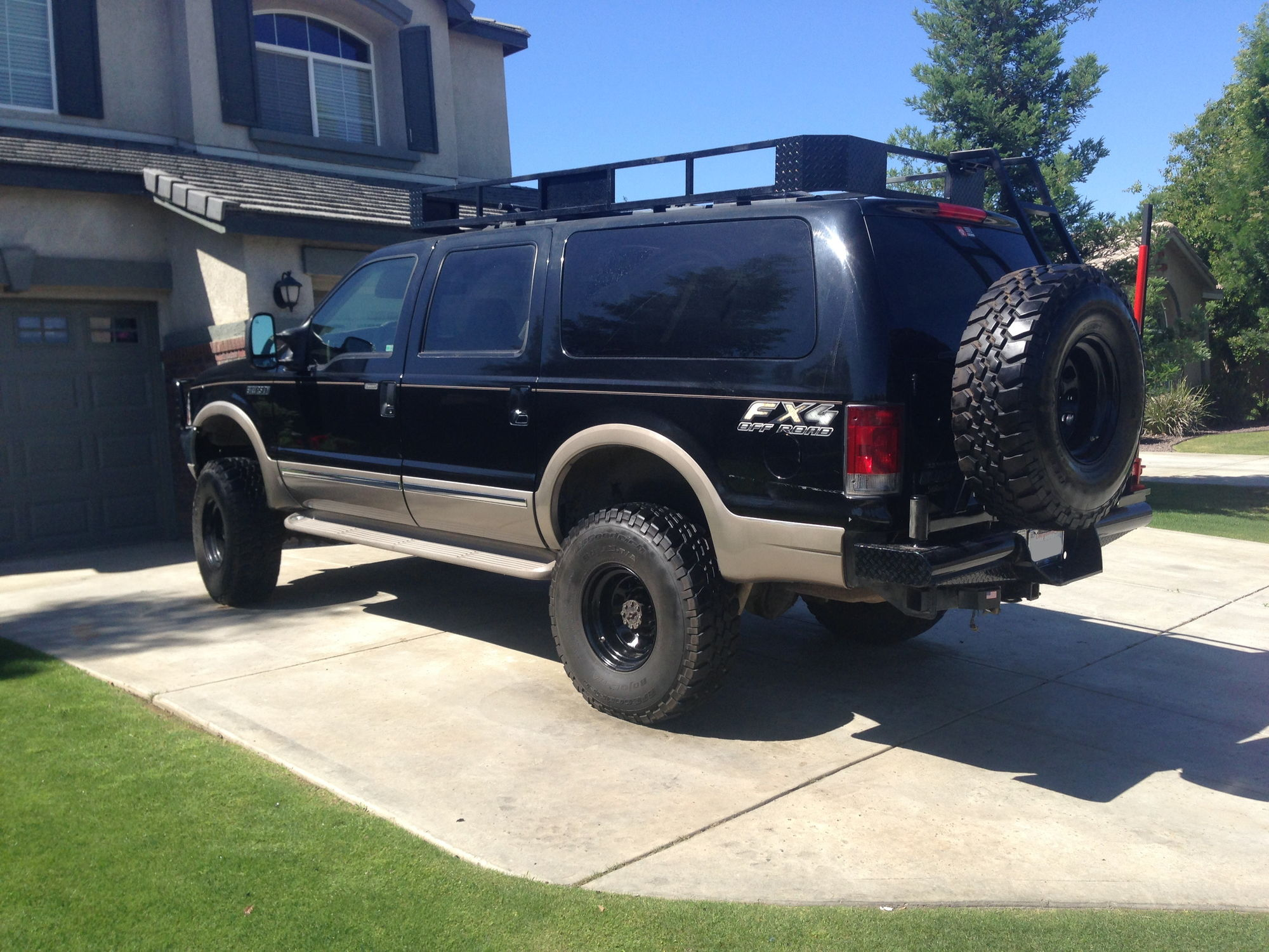 2015 Ford Excursion >> gorkah's overland excursion build out - some roof rack details - Ford Truck Enthusiasts Forums