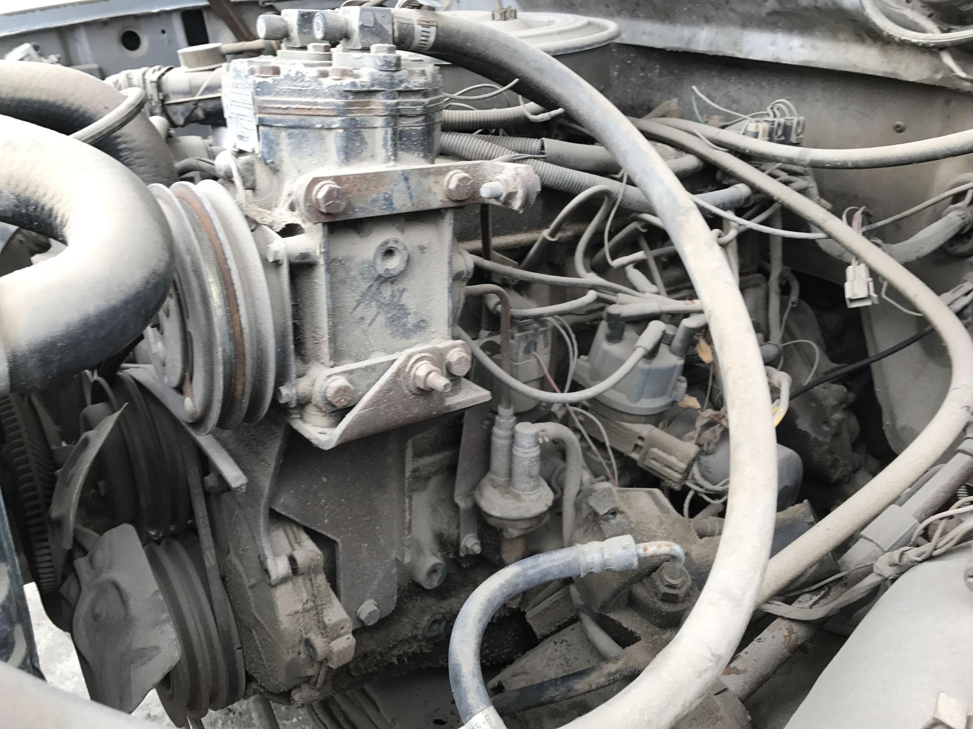 Ac Bracket For A 1967 F100 300 Engine Underdash Unit