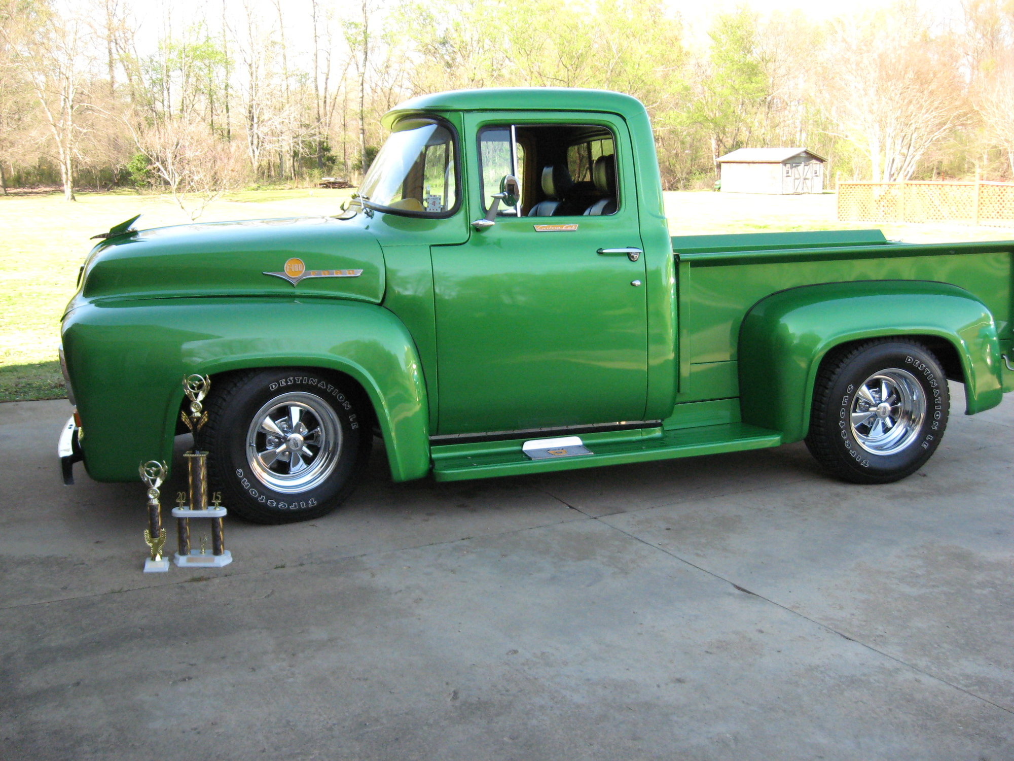 Used Car Guru >> 56 F100 build photos - Page 8 - Ford Truck Enthusiasts Forums