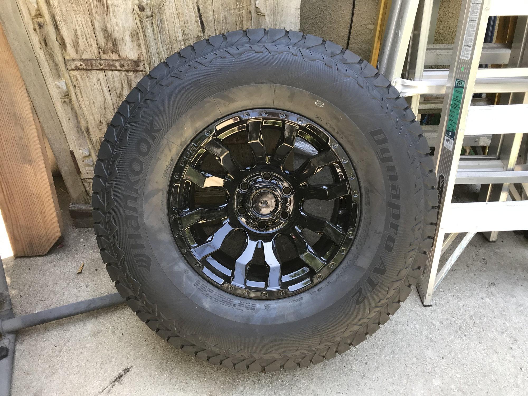 F150 Bolt Pattern >> NEW F-150 F150 Raptor 5 (not4) Fuel Blitz Wheels and Hankook tires 17x9 6x135 Los Angeles Area ...