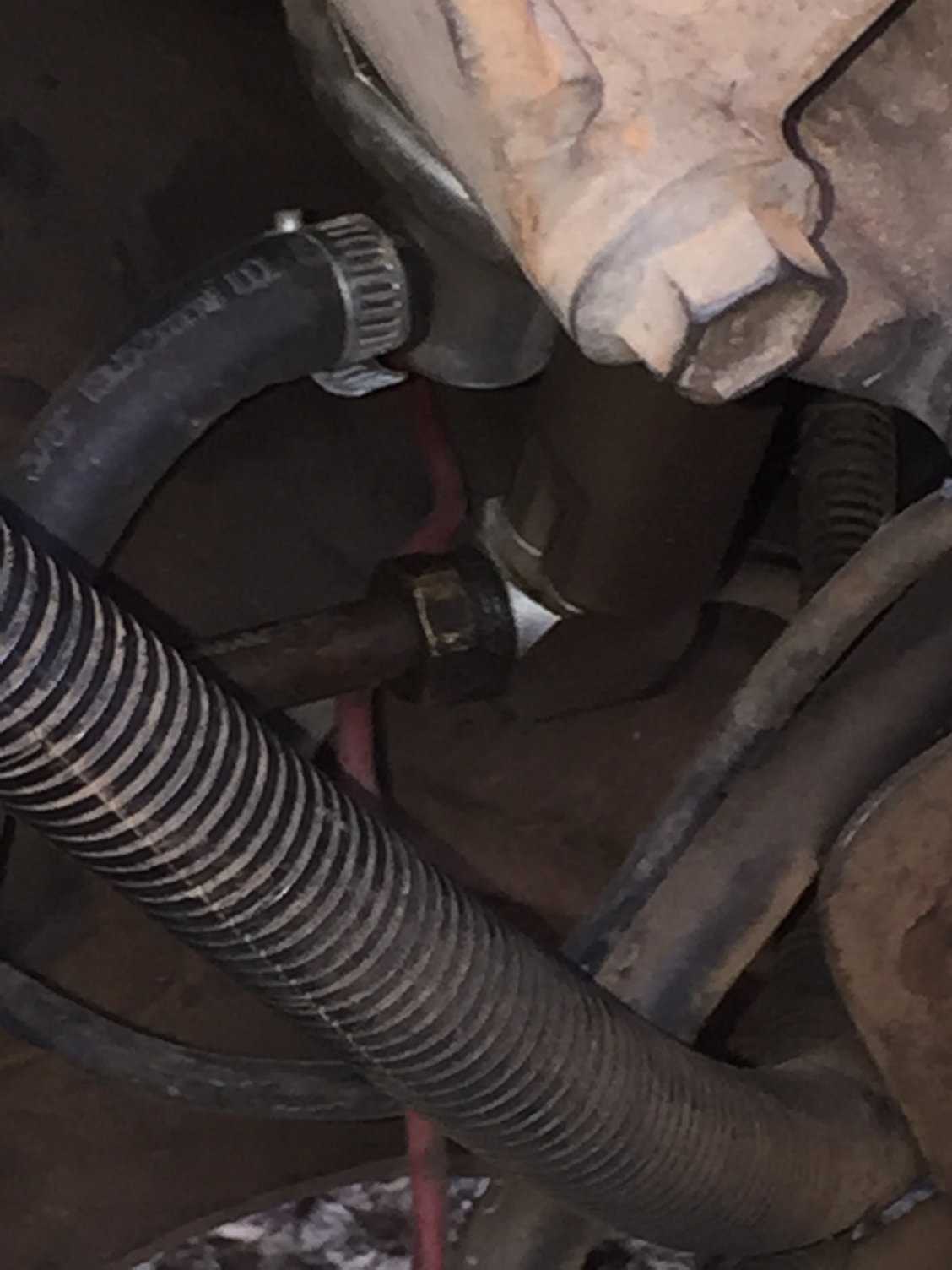 Where To Install Fuel Check Valve Ford Truck Enthusiasts Forums 91 F150 Filter What Would You Use Seal Up The Line Fittings Teflon Tape Should I Get Rid Of And Put A There Is Picture