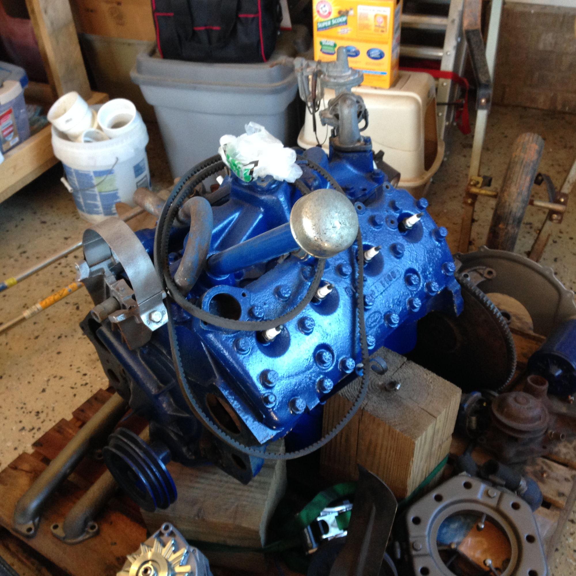 51' 239 V8 Rebuilt Flathead and Transmission for Sale