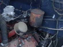 My old lady 1951 F1 255cid flathead