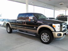 I just bought this 2011 F 350. It has 58000 miles.