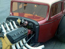 drag car I built in 1961