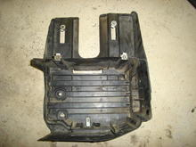 This is what is left of the battery tray that you will want to use.