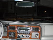 Dash View with CB installed and GPS hard wired in.