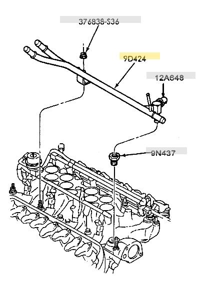 Explorer 5 0 Heater Tubes On Truck Intake