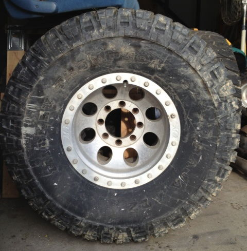 """Ford Truck Enthusiasts >> 36"""" Mickey Thompson Baja ATZ tires on MT Classic Lock wheels 8x6.5 - Ford Truck Enthusiasts Forums"""