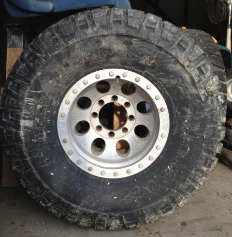 """Truck Mud Tires >> 36"""" Mickey Thompson Baja ATZ tires on MT Classic Lock ..."""