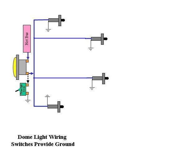 dome light wiring diagram ford dome light wiring ford truck enthusiasts forums  dome light wiring ford truck