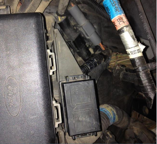 96 F150 Tow Package Relay Box - Ford Truck Enthusiasts Forums