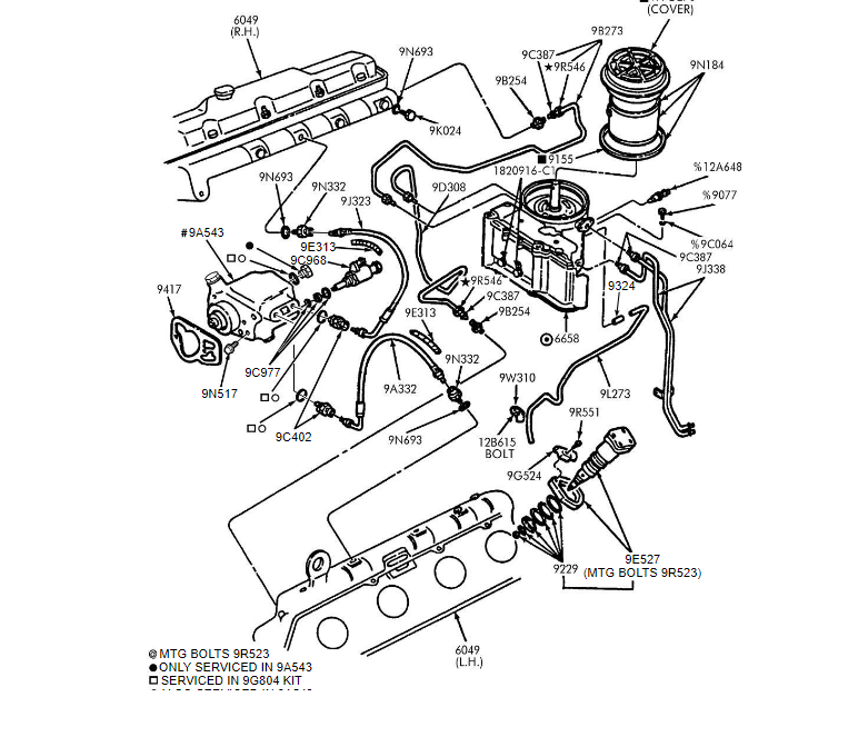 7 3l Diesel Fuel Line Parts Schematic Short Bed