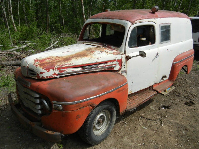 48-49 Mercury panel for sale on Kijiji - Ford Truck Enthusiasts Forums