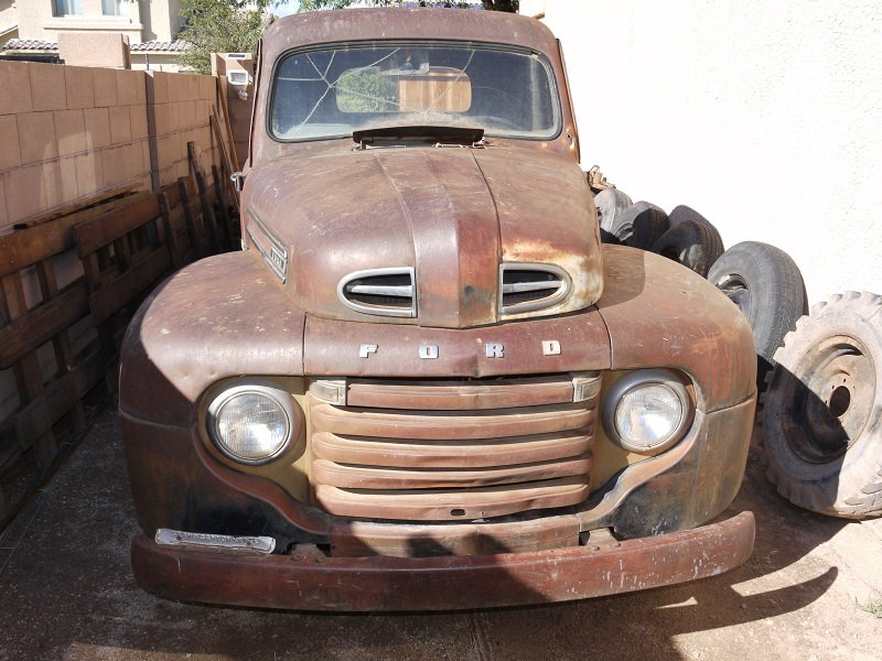 1948 Ford F2 Project With Title