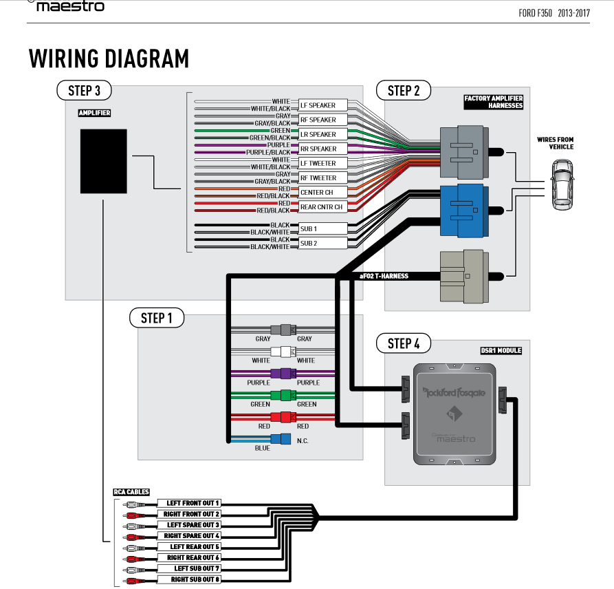 Sony Stereo System Wiring Diagram Ford F 150 - Complete ...