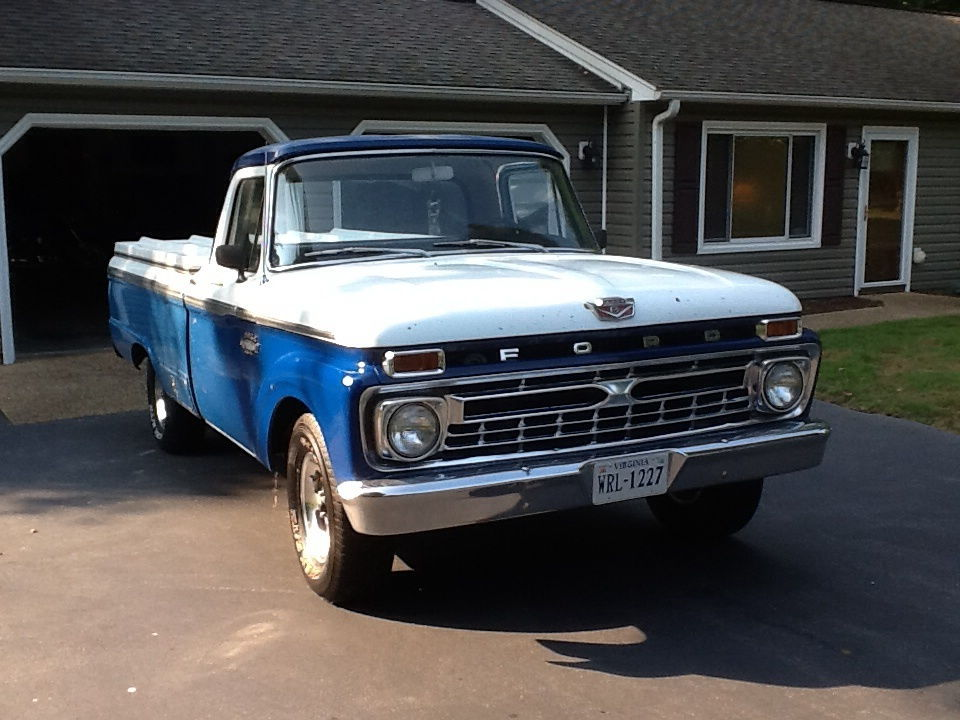 66 f100 build ford truck enthusiasts forums. Black Bedroom Furniture Sets. Home Design Ideas