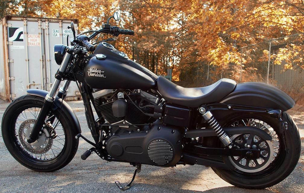 Lower Street Bob Bars - Page 3 - Harley Davidson Forums  Harley